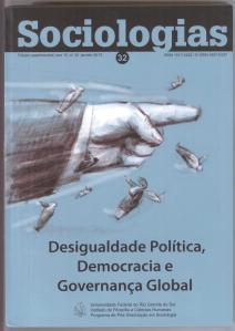 Sociologias 2013 Political Inequality, Democracy and Global Gov