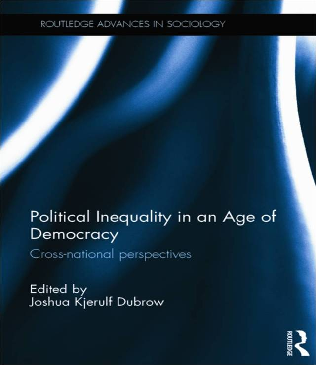 Political Inequality Routledge Book Cover 2014
